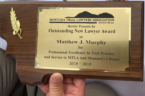 Outstanding New Lawyer Award